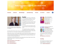 Reiki-Seminare in Berlin mit Oliver Klatt