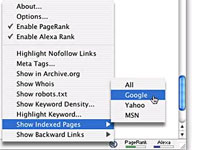 Search Status Firefox Plugin