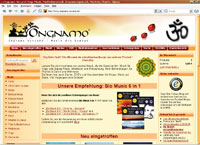 Ongnamo-Versand: Yoga-Musik, Meditationsmusik, Enspannungsmusik