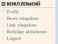 News eingeben